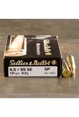 Schmidt and Bender Sellier & Bellot 6.5×55 Swedish 131gr SP