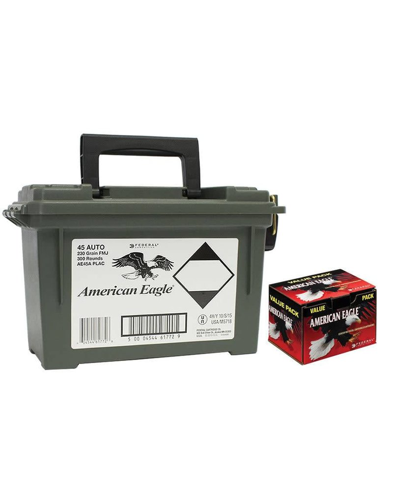 Federal Federal American Eagle 45 ACP Auto 230gr with ammo box