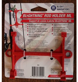 Blight Innovations Blightning Rod Holder 102001 - Red