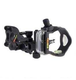 TRUGLO TRUGLO Micro Brite 3 Pin Lighted Bow Sight Black