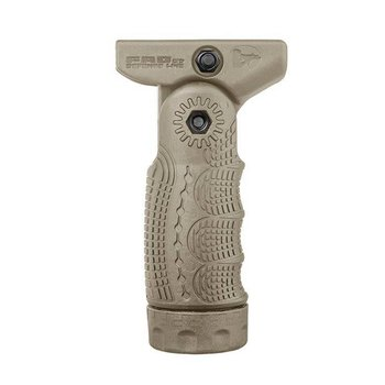 FAB Quick Release 7 Position Tactical Folding Foregrip Tan
