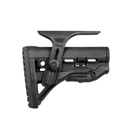 FAB AR15 Shock Absorbing Butt Stk w Adj. Cheekpiece Black