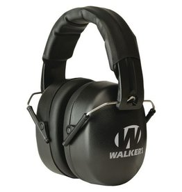 Walkers Walkers Game Ear Youth & Women Folding Ear Muff GWPYWFM2 BLK