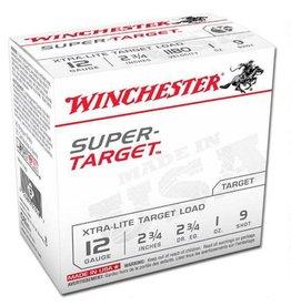 "WINCHESTER Winchester Super Target 12 Ga 2.75"" #9 Lead 1 oz 25 Rounds"