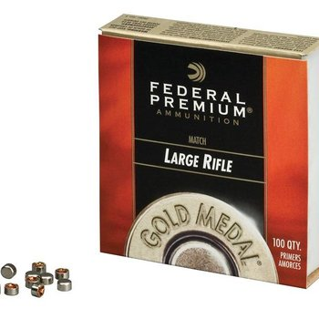 Federal Federal Premium Gold Medal Large Rifle Match Primers #GM210M