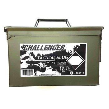 Challenger Challenger 12ga 2 3/4 Tactical slug  magnum - Can of 175 Shells #04150