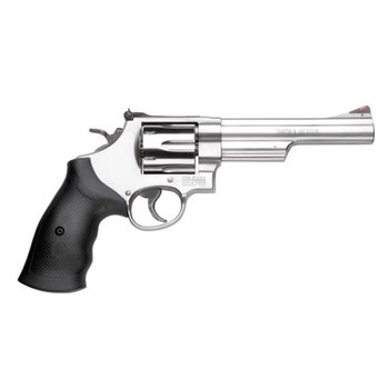 """Smith & Wesson S&W Smith Wesson 629 Revolver .44 Magnum 6"""" Barrel 6 Rounds Rubber Grip Stainless"""