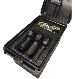 MTM Tactical 3pcs Pistol Handgun Case