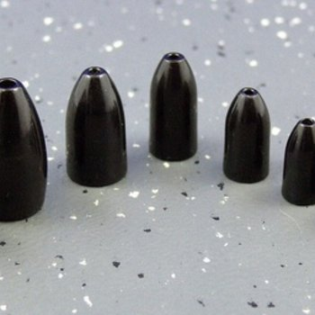 Ultra Tungsten Ultra Tungsten Bullet Weight Black 3/8oz (3pcs/pk)