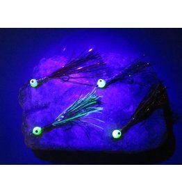 North Shore SUMMIT FLIES STREAMER UV AND GLOW - Perch quantity 2
