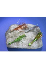 North Shore SUMMIT FLIES STREAMER UV AND GLOW - Frog quantity 2