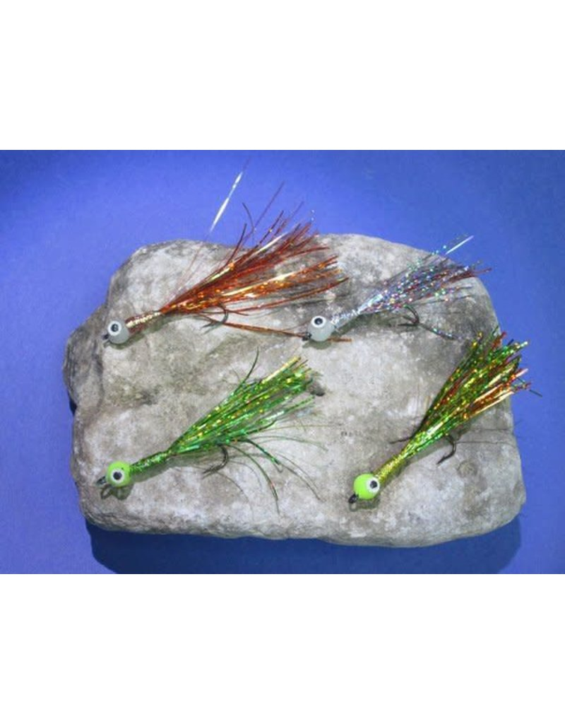 North Shore SUMMIT FLY'S STREAMER UV AND GLOW - Frog quantity 2
