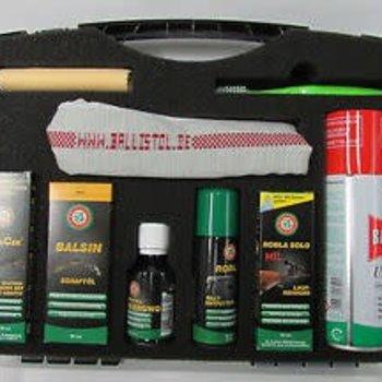 ballistol BALLISTOL set of gun care WAFFENPFLEGE SET, GUNCER, ROBLA, ROBLA SOLO MIL, BALSIN U.M