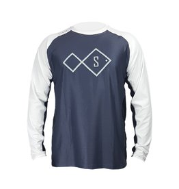 stryk fishing apparel STRYK Digi Scales Performance Long Sleeve 3XL Grey