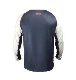 stryk fishing apparel STRYK Digi Scales Performance Long Sleeve S Grey
