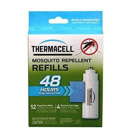 ThermaCell ThermaCELL Mosquito Area Repellent Refills  48-hour Value Pack (R-4) 12 insenct repellent 4 cartridges