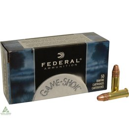 Federal Federal Game-Shok Ammunition 22 Long Rifle Hyper Velocity 31 Grain Plated Lead Hollow Point