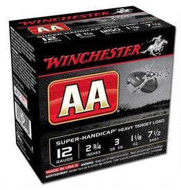 "WINCHESTER Winchester AA Super Handicap 12 Ga 2.75"" #7.5Lead 25 rds"