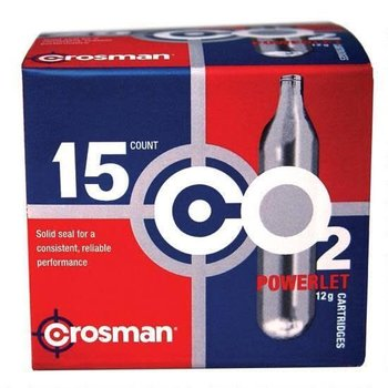 Crosman Crosman CO2 Powerlet Cartridges 12 Gram C21315