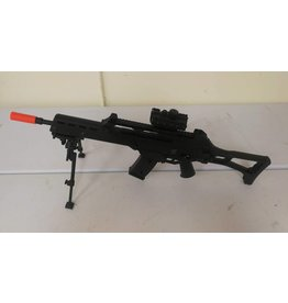 Airsoft HK C-tac gas red dot bipod 1 mag