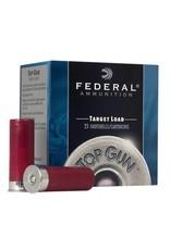 "Federal Federal Top Gun Target 12 Gauge Ammunition 25 Rounds 2-3/4"" #7.5 Lead Shot 1-1/8 Ounce 1200fps single"