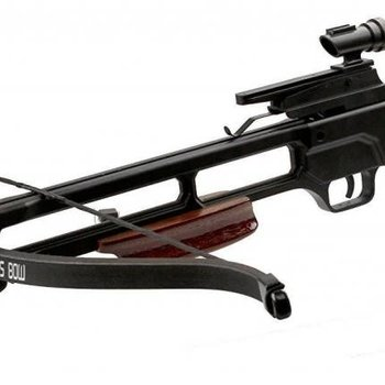 Mtech MTECH USA Crossbow 35'' 150LB Draw Weight Dark WOOD STOCK W/2 16'' Arrows