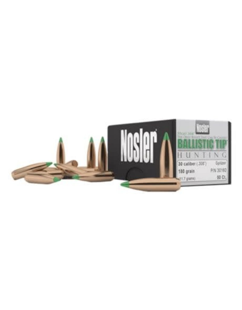 Nosler Nosler BT 30 Cal 165 Gr SP-50 CT
