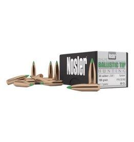 Nosler Nosler BT 30 Cal 168 Gr SP-50 CT