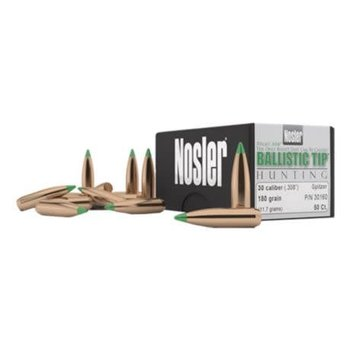 Nosler Nosler BT 30 Cal 168 Gr SP-50 CT