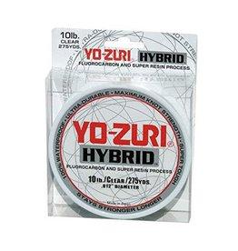Yo-Zuri Yo-Zuri 275-Yard Hybrid Monofilament Fishing Line, Clear, 10Lb.