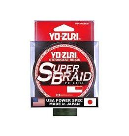 Yo-Zuri YO-ZURI SUPERBRAID LINE, 65LB(0.41mm). X 150YD. DARK GREEN