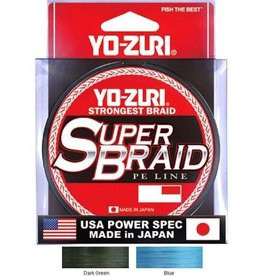 Yo-Zuri Yo-Zuri Duel P.e Line Super Braid 150yds 20lbs (0.23mm) Dark Green R1258-dg
