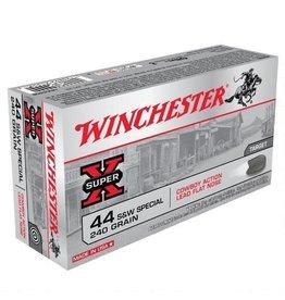 WINCHESTER Winchester Super X .44 Special Ammunition 50 Rounds, LFN, 240 Grain