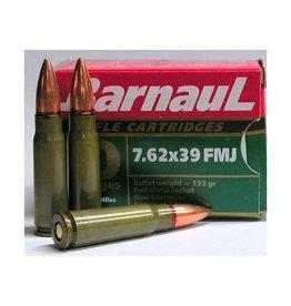 Barnaul BARNAUL c.7.62X39 123GR FMJ GREEN 20 ct/pack non-corrosive