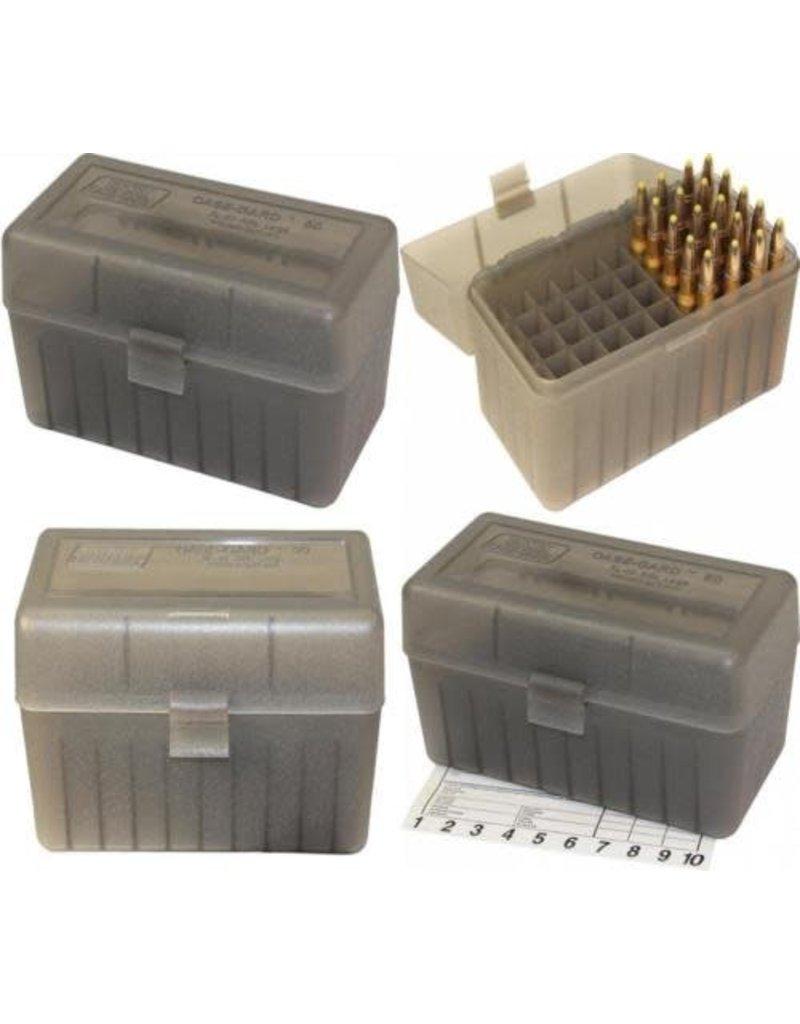 MTM Rifle Ammo Box .270WIN 30-06 25-06 Clear Smoke 50Rnd, RL-50-41