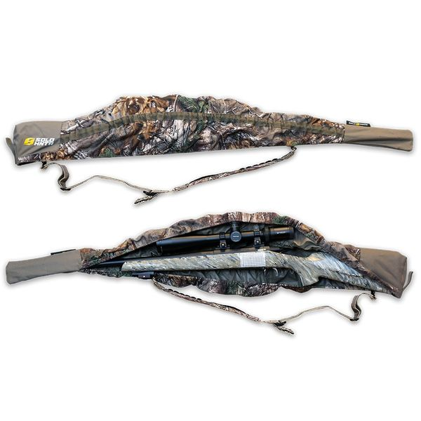 Solo Hunter Solo Hunter Rifle Cover - 40'' to 52'' - Self Adjusting Stretch Fit - Camo