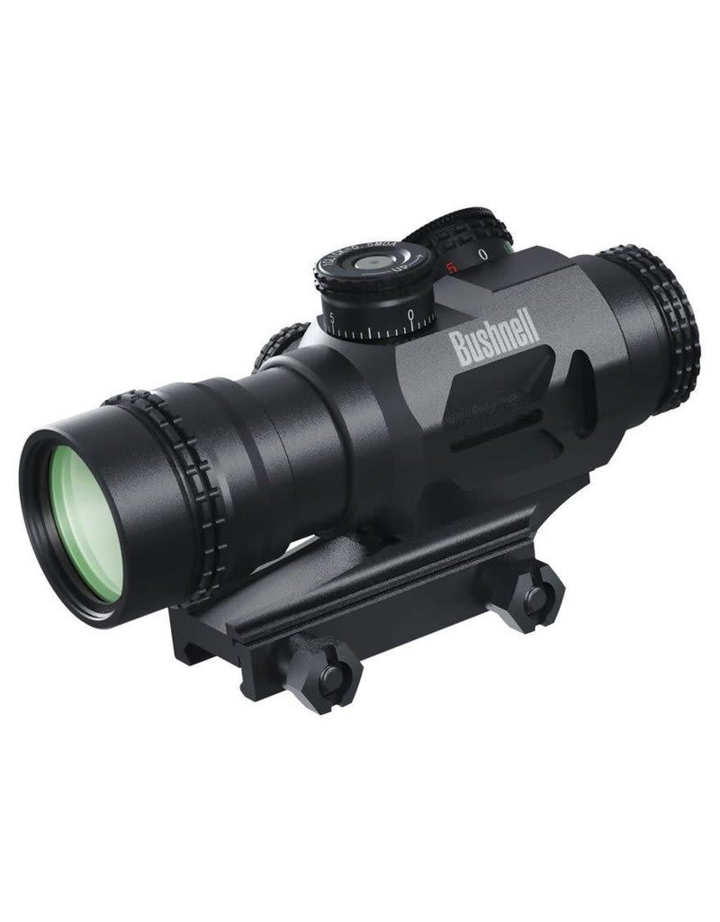 Bushnell Bushnell AR Optics Accelerate 4x Prism Sight Red Dot BTR-3 Illuminated Reticule 0.5 MOA Per Click Matte Black