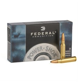 Federal Federal Power-Shok Rifle Ammo  SP,20rd/Box 30-06SPR 180Gr 2700