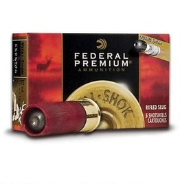 "Federal Federal Vital-Shok 12 Gauge Ammunition 5 Rounds 2 3/4"" 1oz. HP Slug 1,600 Feet Per Second"