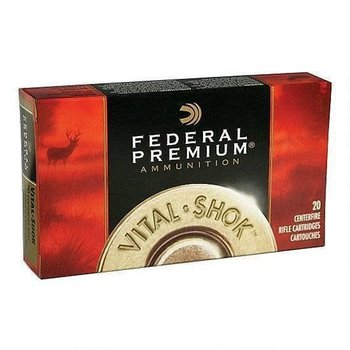 Federal Federal Vital-Shok .308 Winchester Ammunition 20 Rounds Sierra GameKing SP 165 Grains P308C
