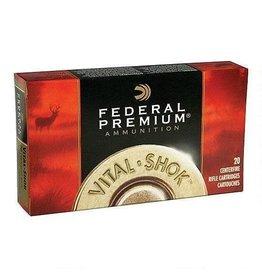 Federal Federal Ammunition Vital-Shok 30-06 Springfield Trophy Bonded Bear Claw Bullet, 200 Grains, 2540 fps, 20 Round Box, P3006T5