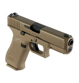 Glock Glock G19X USA 9MM 106MM BBL GNS 3/10RD MAGS, COYOTE BROWN