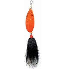 Buchertail Joe Bucher #7 Buchertail Musky Spinner Black/Orange