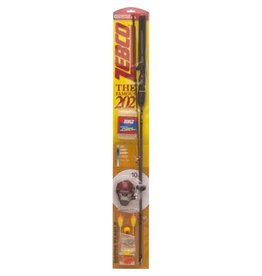 "Zebco Zebco 202 Series Combo 5'6"" 2 Pieces, Spincast, Medium Action with Pocket Tackle Box"