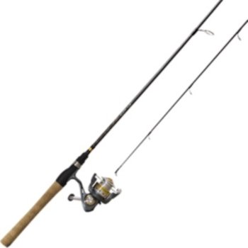 "Zebco Quantum Strategy Spinning Combo 30 5.2:1 Gear Ratio 6'6"" Length 1pc Rod Medium Power Ambidextrous"