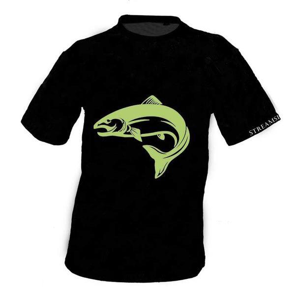 Streamside Streamside T-Shirt Black, XL