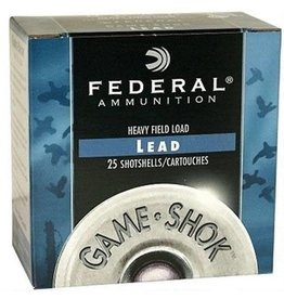 "Federal Federal Game-Shok Hi-Brass 16Ga. 2-3/4"" #4 1-1/8oz. 25Rd per Box"