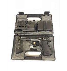 CZ CZ 75 B 9MM w/2 Mags/1 Holster/1 Magpaul