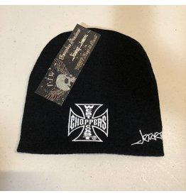 JESSE JAMES Jesse James WCC Beanie Hat Iron Cross Basic