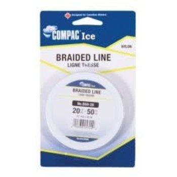 Compac Braided Line - Spool - 50YD - 15LB